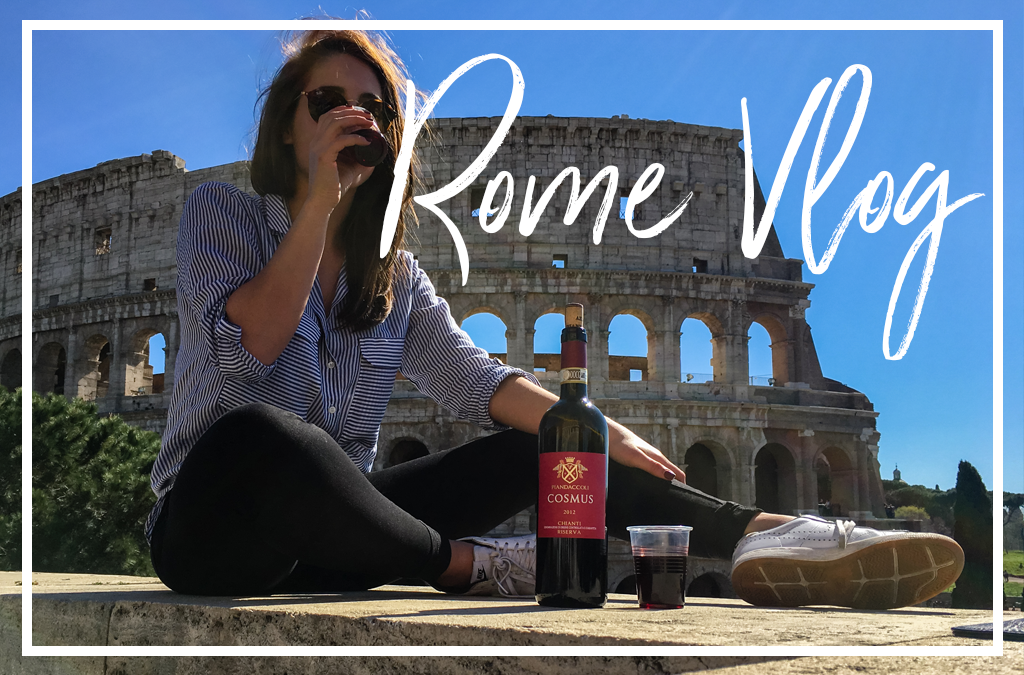 Follow us to Rome (VLOG)